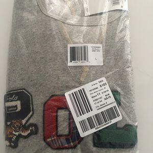 Polo Grey Men's pullover